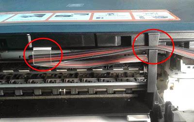 sacar mangueras de impresora canon pixma mg3210