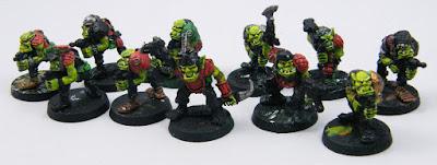 Warhammer 40K Space Ork Raiders - WIP
