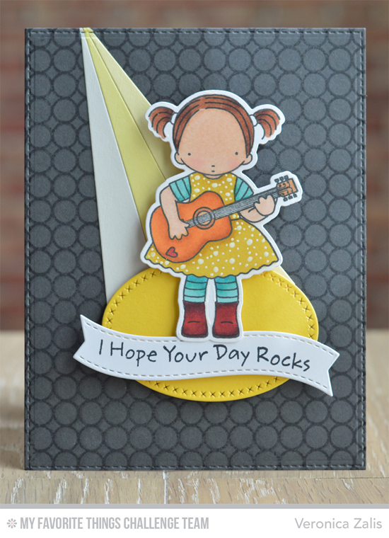 I Hope Your Day Rocks Card by Veronica Zalis featuring the Pure Innocence Heartstrings stamp set and DIe-namics