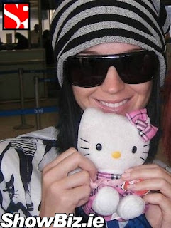 Katy Perry and Hello Kitty soft plush toy doll