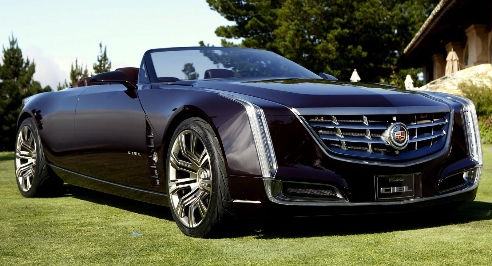 Cadillac Ciel Concept Debuts In Pebble Beach