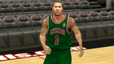 NBA 2K14 Derrick Rose Cyberface Patch