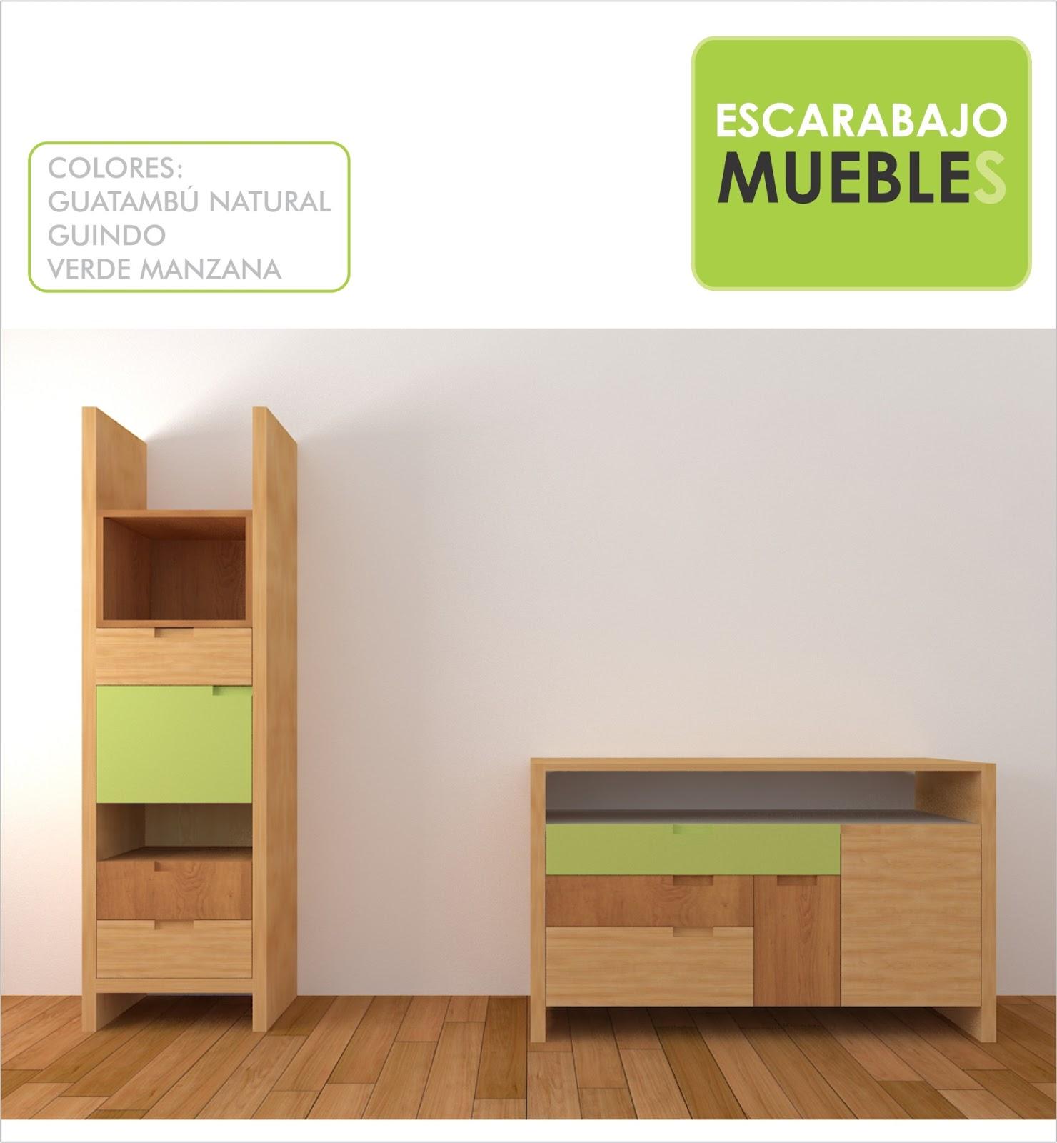 Muebles de guardar funcionales escarabajo muebles for Muebles para almacenar