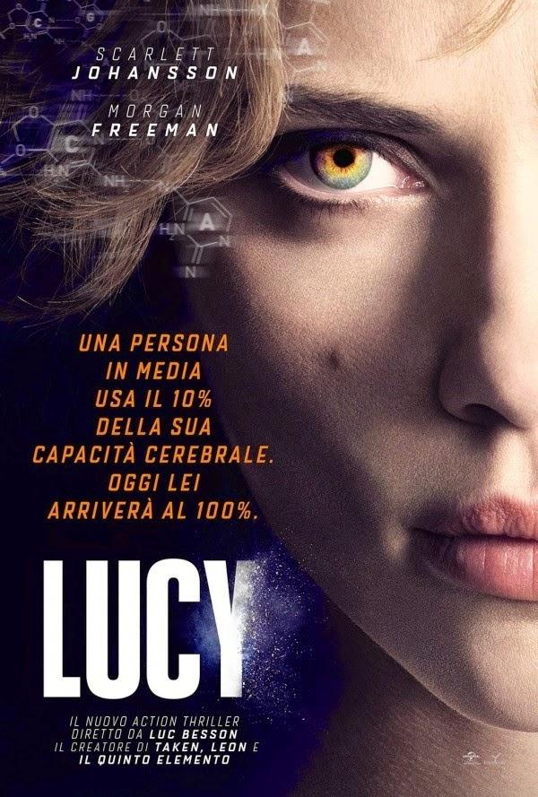 Lucy film fantascienza