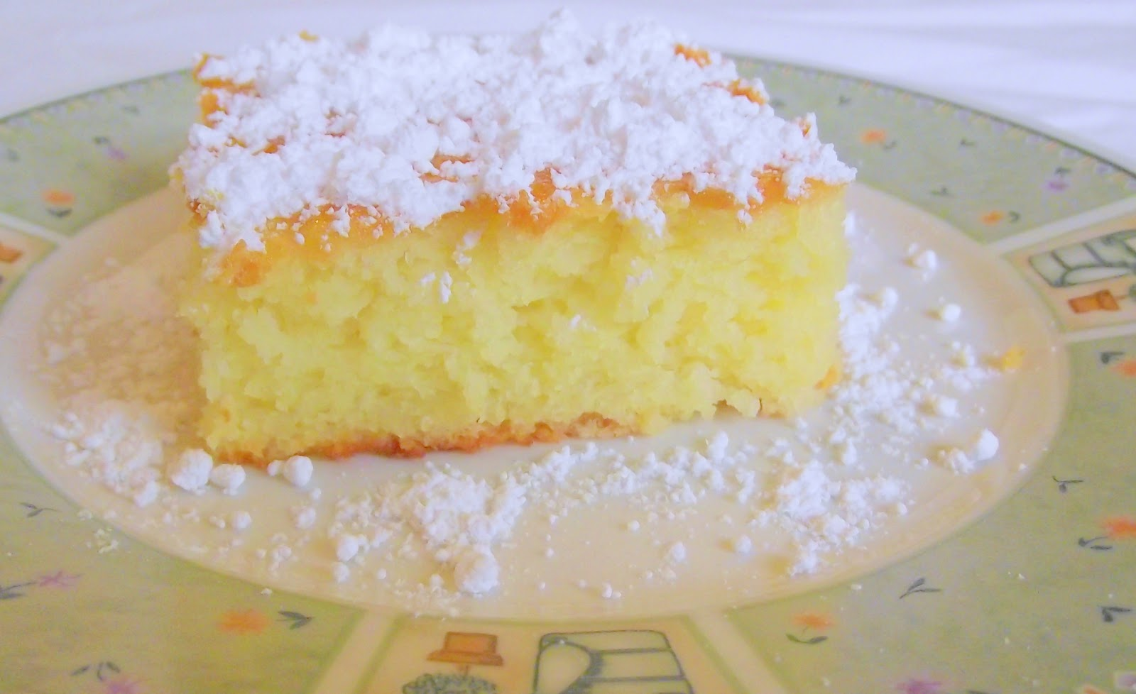A View at Five-Two: Lemon Cake/Bars - 2 ingredients