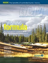 GCSAA current issue