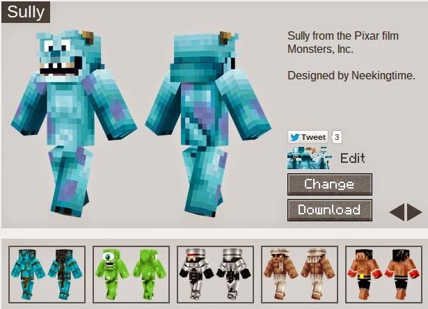 Disney Minecraft Skins