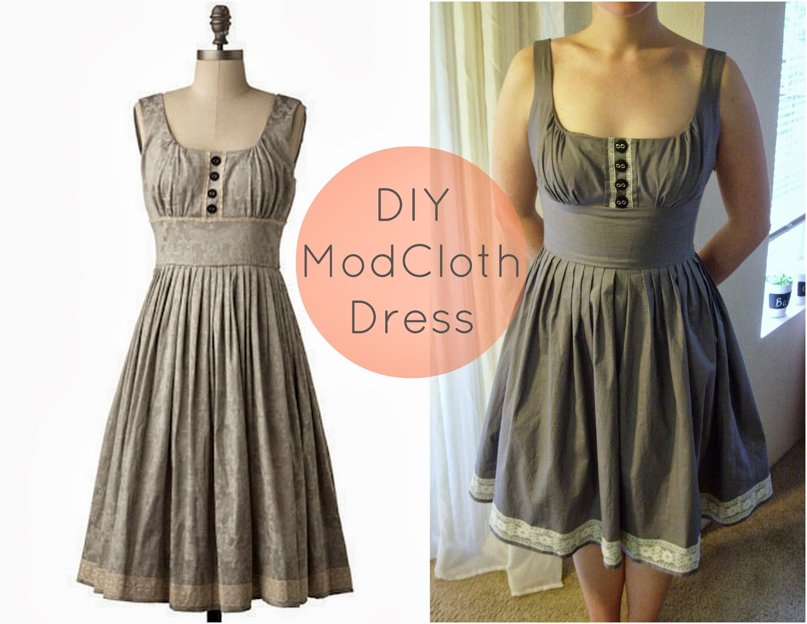 how to make my own dress pattern