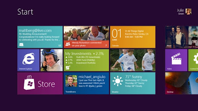 Microsoft Windows 8 Touch Interface Concept Reveled