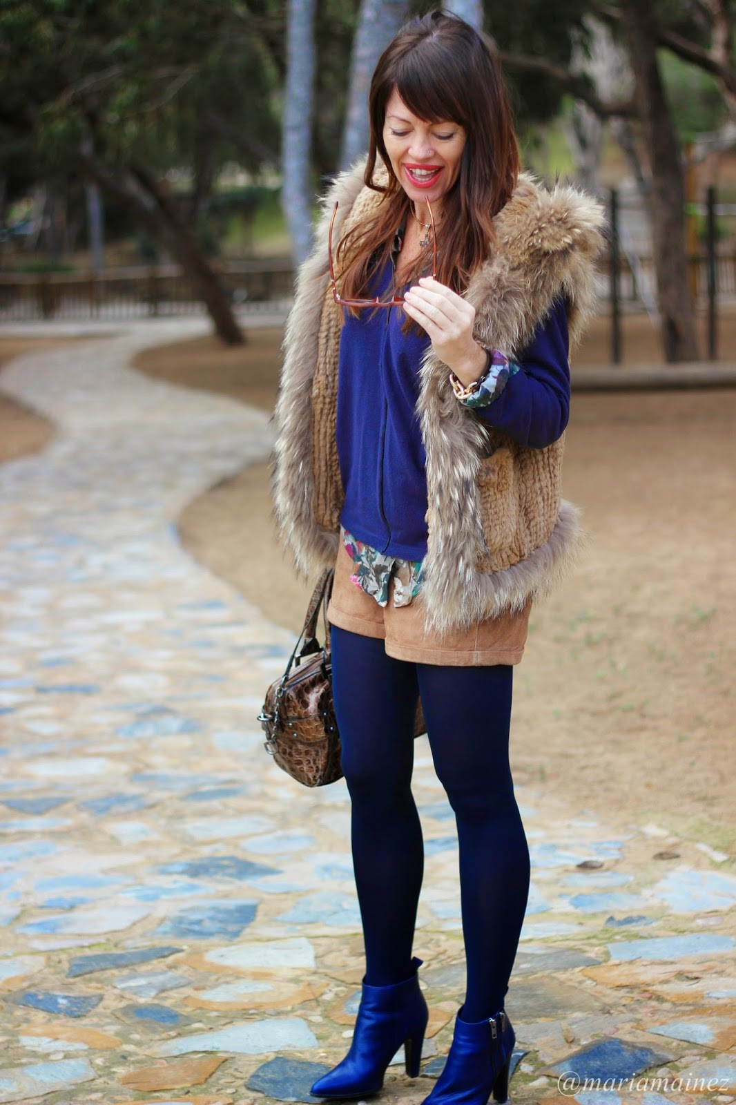 Fur Vest - Streetstyle - Fashion Blogger - BBeautifulbymaria