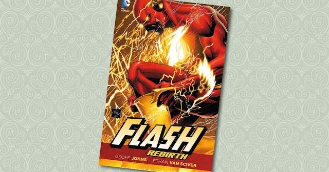 Flash Rebirth Panini Cover