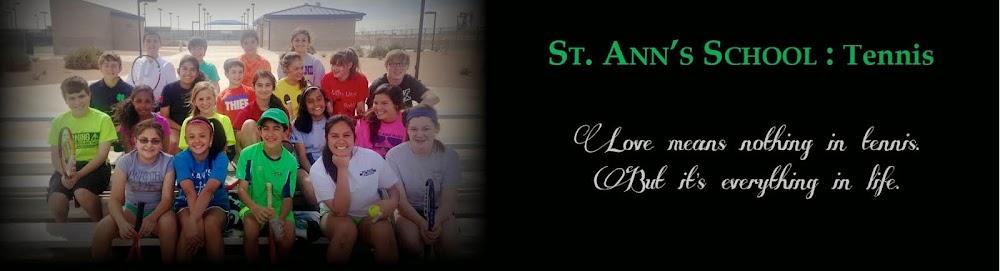 St. Ann's School Tennis