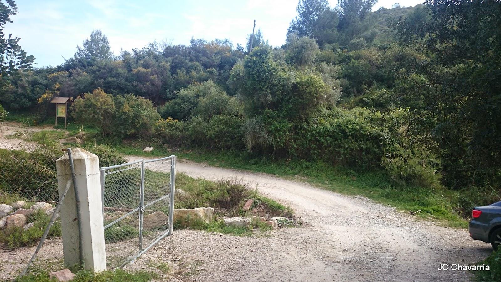 Los Baños Romano La Hedionda:Inicio de la Ruta del Canuto de la Utrera