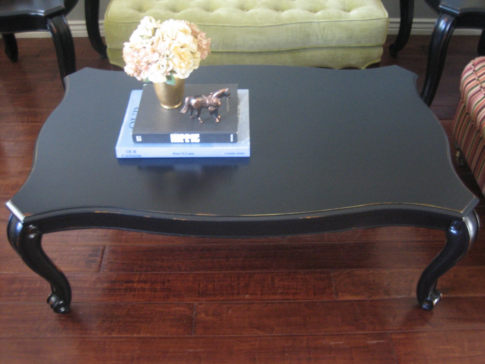 european paint finishes black coffee end tables