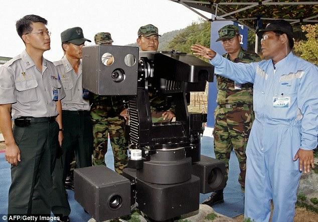 Robot Sentri Samsung yang Membunuh dari jarak dua batu