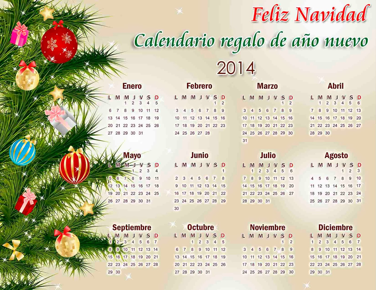 Calendarios 2014 calendarios 2019 gratis y editables for Adornos navidenos 2017 trackid sp 006