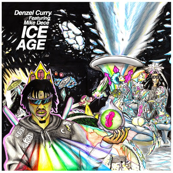 Denzel Curry - Ice Age (feat. Mike Dece) - Single  Cover