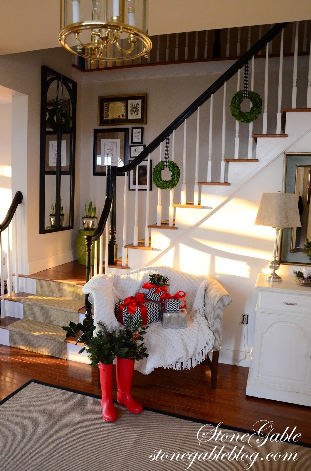 Home For The Holidays Christmas House Tour Stonegable