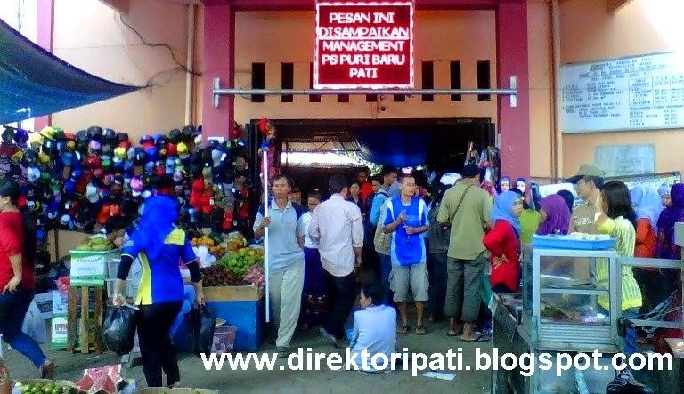 Pasar Puri Baru, Pasar Tradisional Terbesar di Kota Pati
