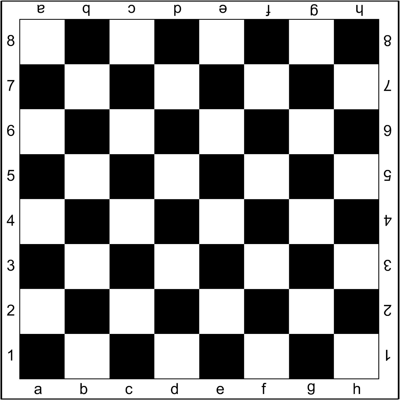 игры в шашки или шахматы.