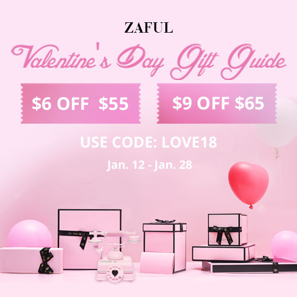 Promotion zaful valentines