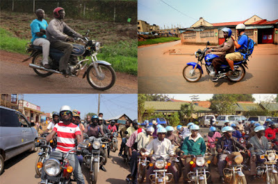 boda tour around kampala
