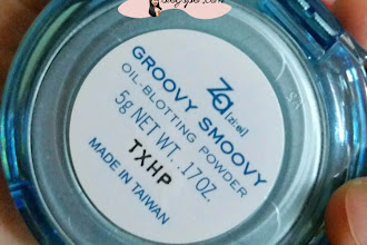 #Product Review : ZA Groovy Smoovy Oil-Blotting Powder.