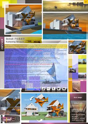 aries pribadie , arlequin architects , desain rumah nelayan , universitas widya mataram yogyakarta
