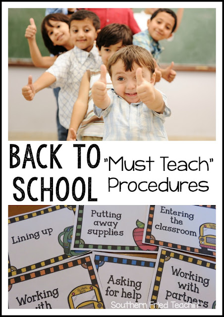 back to school procedures classroom ideas classroom management behavior