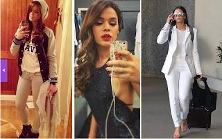 Bruna Marquezine é considerada fashionista. A ex-namorada de Neymar gosta de usar as tendências da moda, sem abrir mão do conforto. Jeans e sapatos sem salto para o dia a dia, enquanto nos eventos não sai sem o batom vermelho. Comemorando seus 20 anos nesta terça (4), reunimos as melhores looks da atriz.