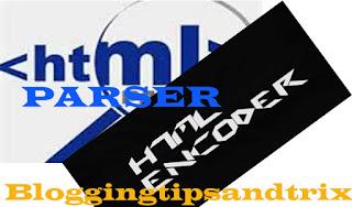 html encoder widget generator