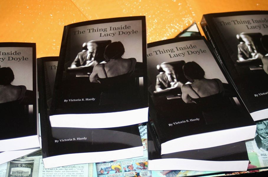 """Available Now! """"The Thing Inside Lucy Doyle"""""""