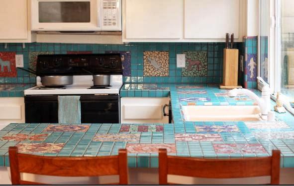 Fotos de cocinas cocinas moderna for Enchapes cocinas modernas