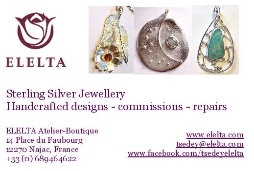 Hand crafted jewellery
