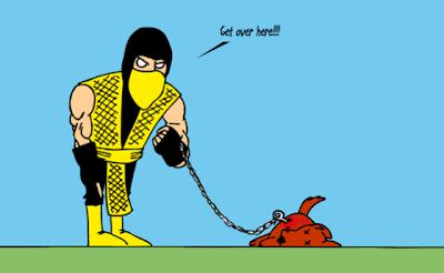 Imagen de la razón de Scorpion no tiene mascota