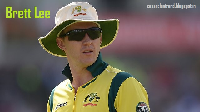 Brett Lee Retires quits International Cricket images pics profile Bowling song family Biography