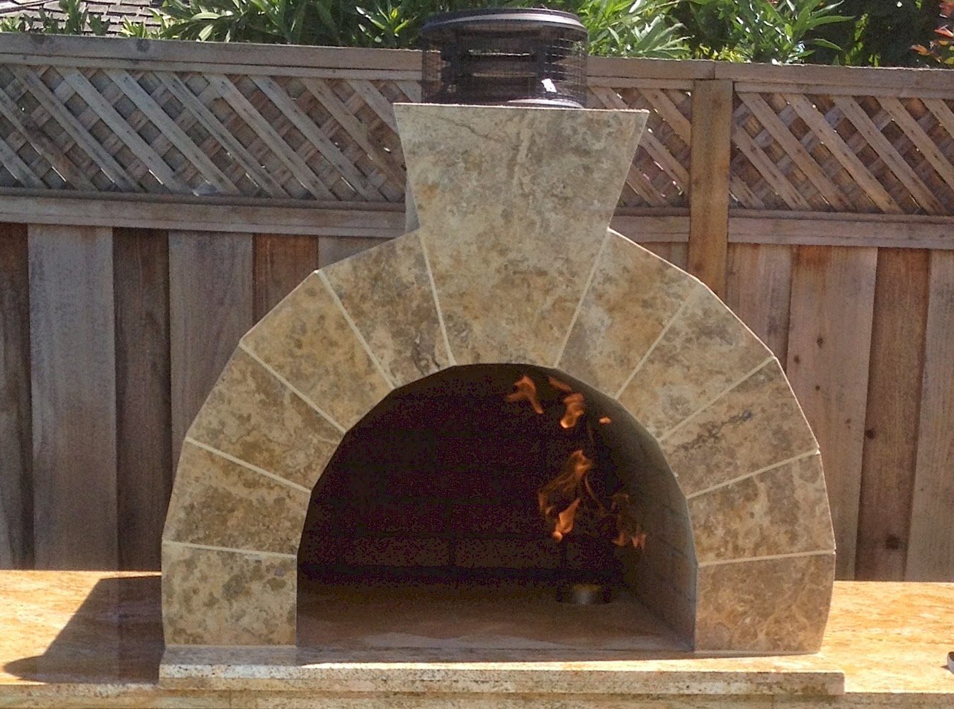 Conetto Natural Gas Brick Pizza Oven California