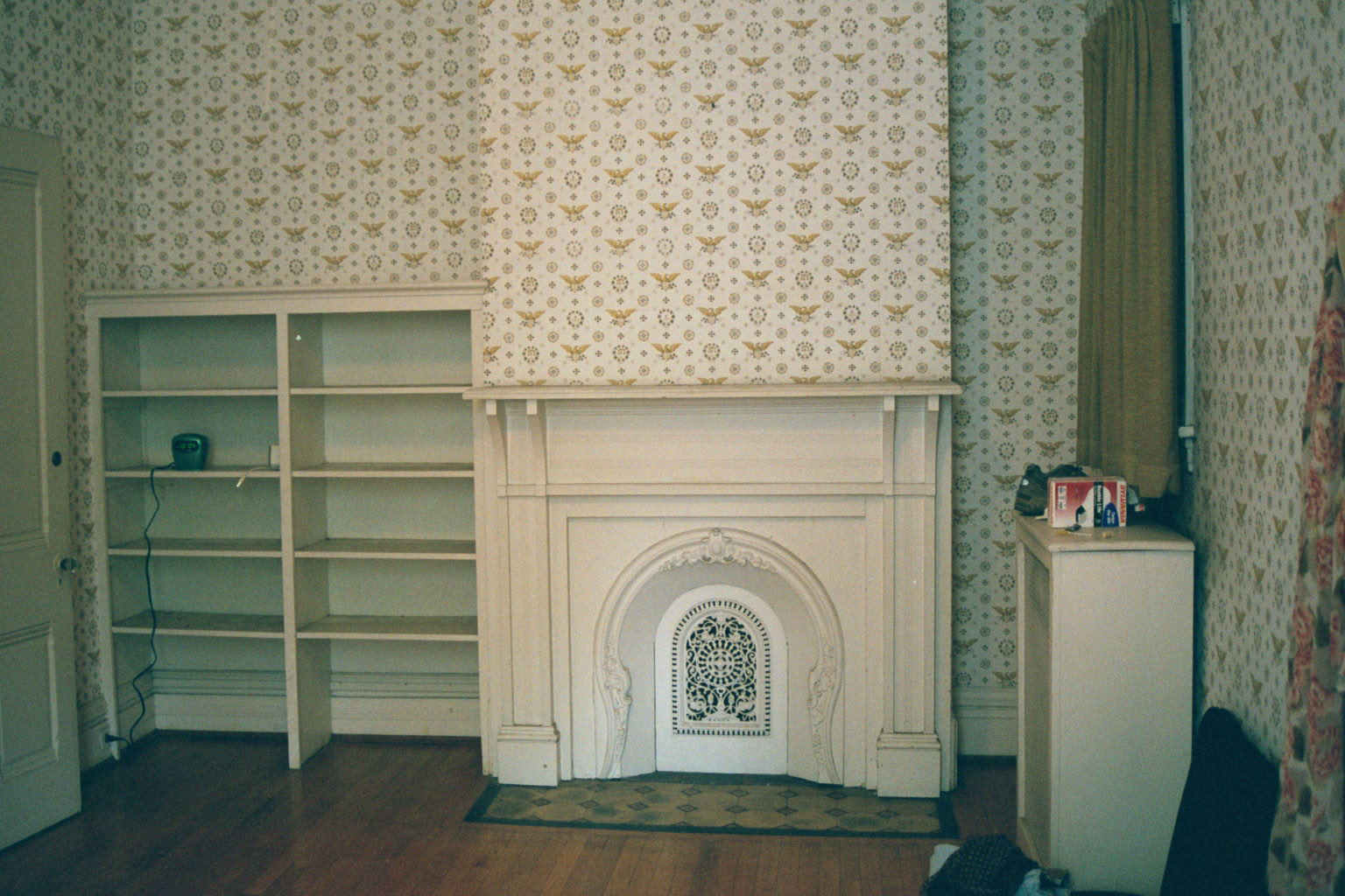 the master bedroom, an introduction to lincrusta and anaglypta