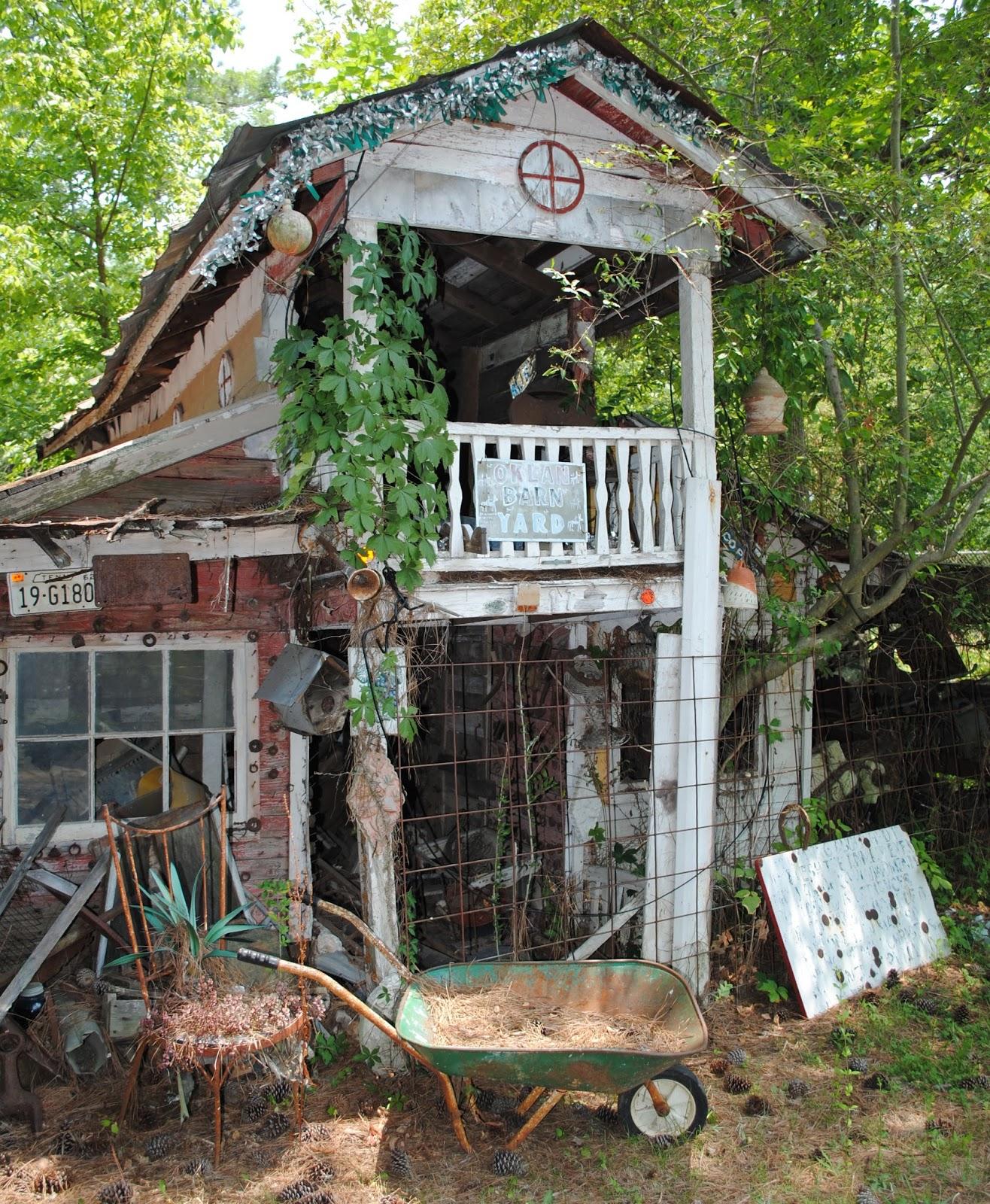 The Carpetbagger Howard Finster 39 S Paradise Gardens