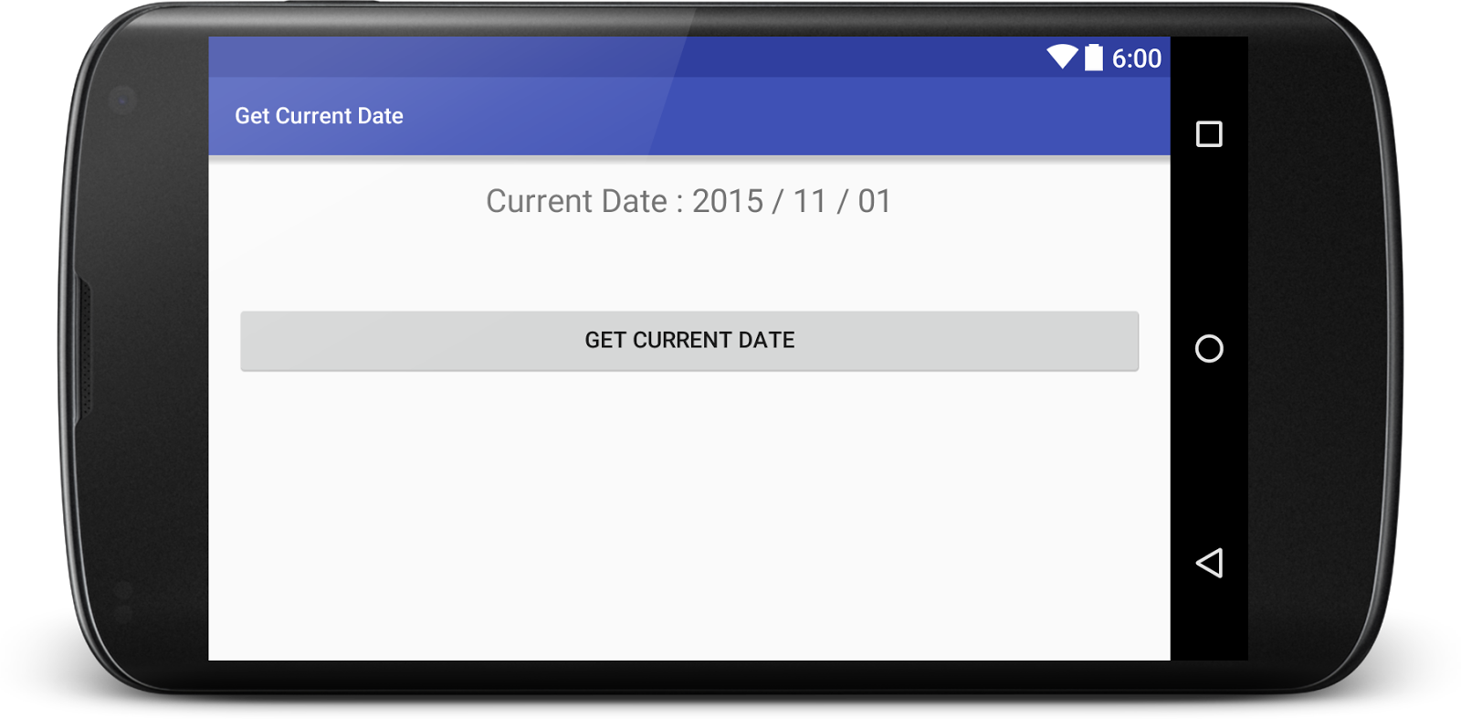 Get Current Date in Android Programmatically