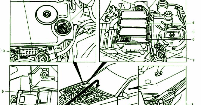 Diagram Ingram  Fuse Box Diagram Mercedes 400e 93