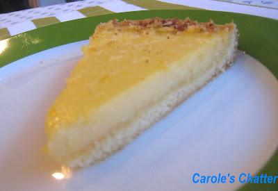 Carole's Chatter: Lemon Tart