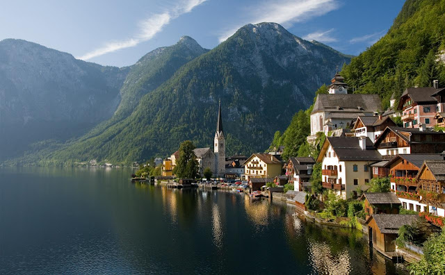 Beautiful Place Hallstatt Austria