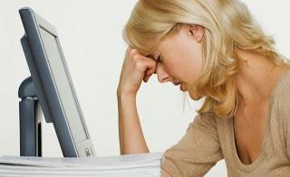 المشاكل الصحية التي يسببها الكمبيوتر