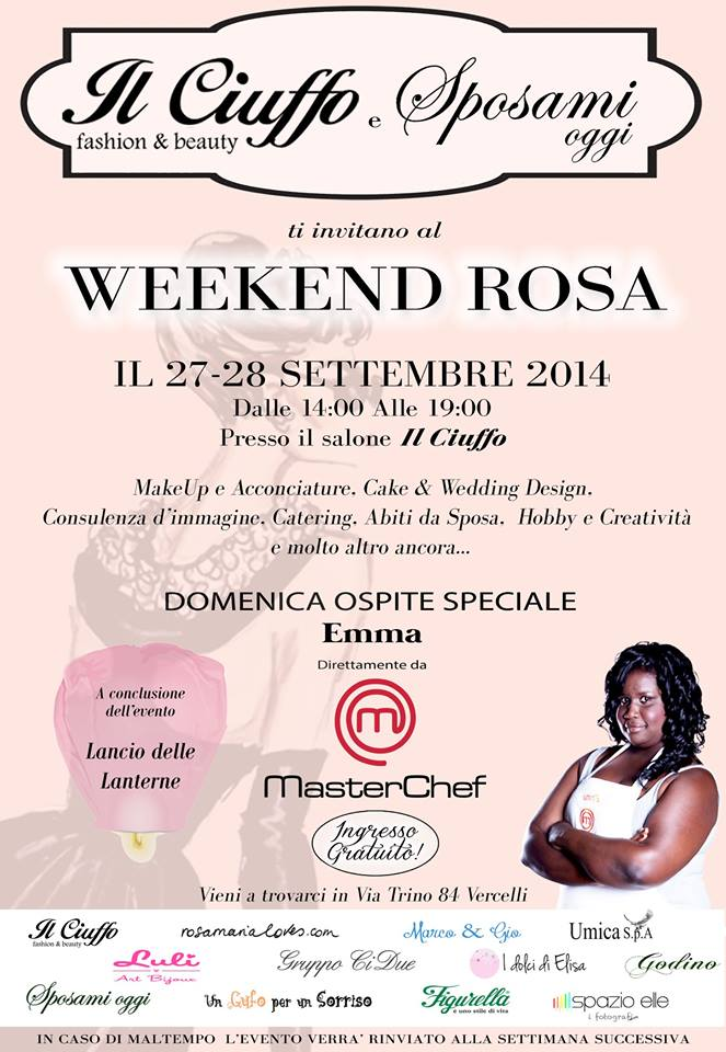 https://www.facebook.com/weekendrosavercelli