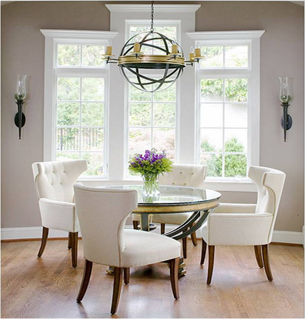 Lovely Romantic Dining Rooms Part   1: Romantic Dining Room Design Ideas