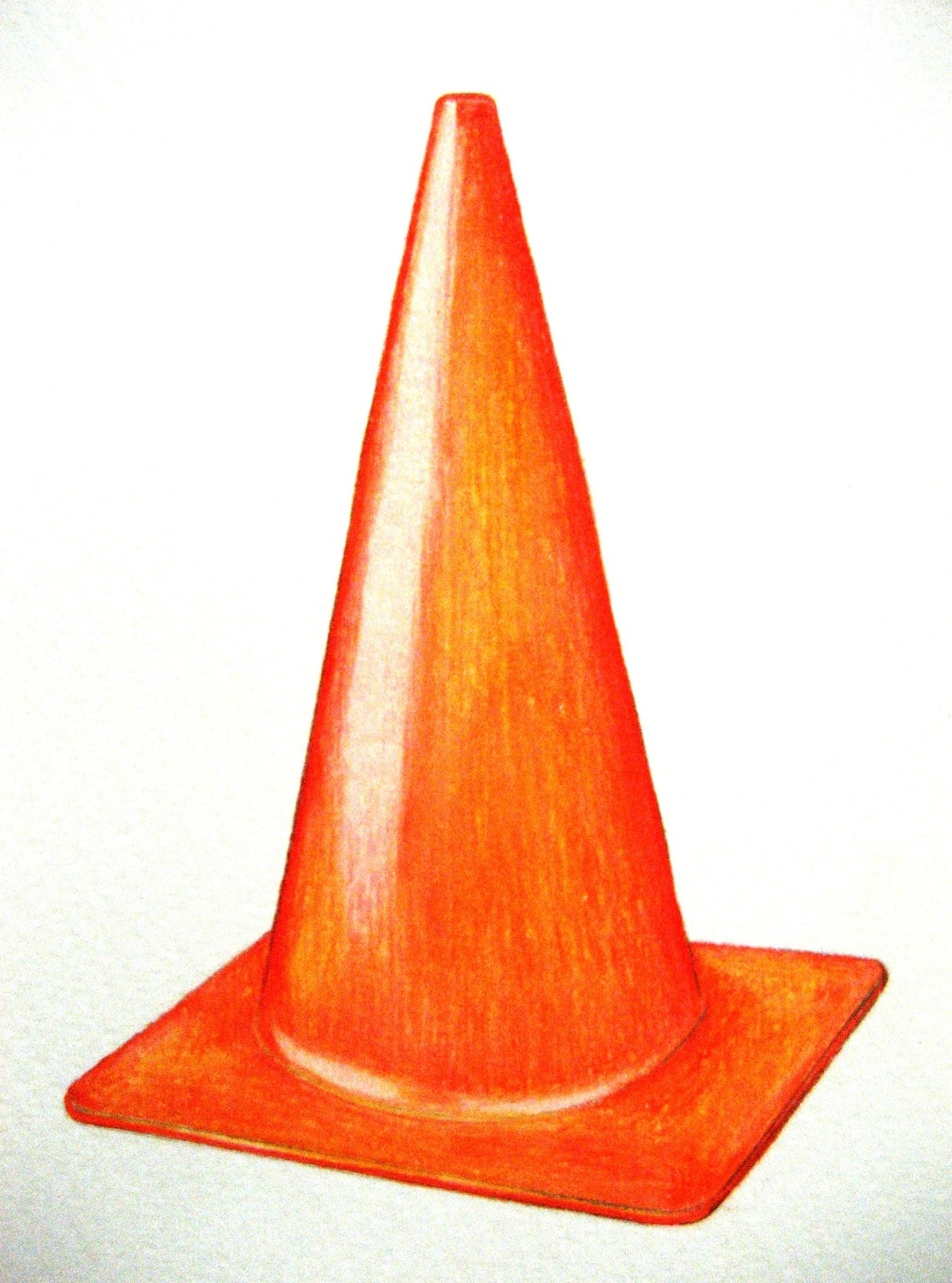 Examples of Cone Shaped Objects http://mbsdailydrawing.blogspot.com/2011_10_01_archive.html