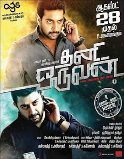 Thani Oruvan 2015 Hindi – Tamil Dubbed Movie 720p hevc HDRip