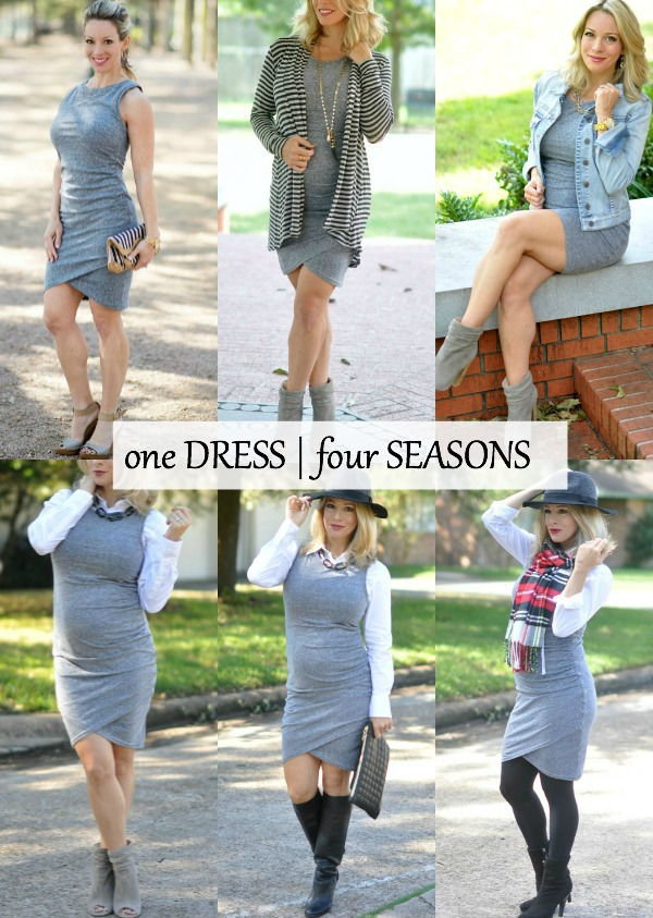 How to style your tank dress for fall and winter | Honey We're Home