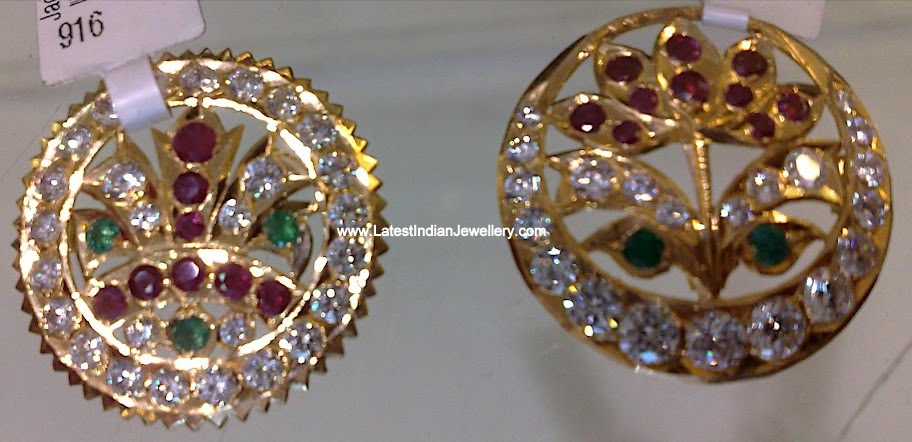 Gold Hair Pins/Jada Pins with gemstones | Latest Indian Jewellery ...